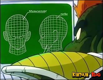 Uma parte antes inativa do cérebro de Bardock se torna muito mais estimulada que nos outros Sayajins.